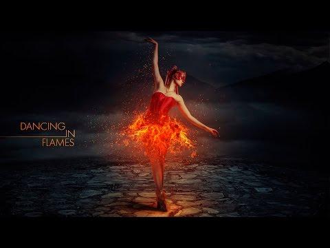 Photoshop Manipulation Tutorial - Dancing in Flames