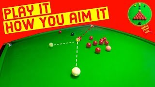 Snooker How To Aim Basic
