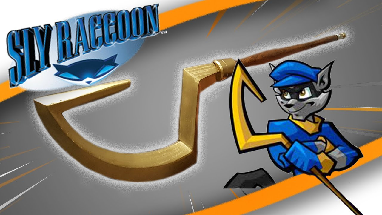 11 Scale Sly Cooper Cane Imageflex Props Youtube