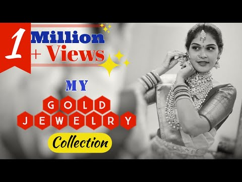 My Gold and Diamond Jewelry Collection || INDIA to USA || Bridal & Casual Wear | Fancy & Traditional