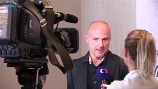 Martin Straka na předsezónní tiskové konferenci HC Škoda Plzeň