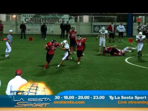 Gli Elephants Catania conquistano il derby contro i Cardinals Palermo - Servizio di Marzia Vaccino