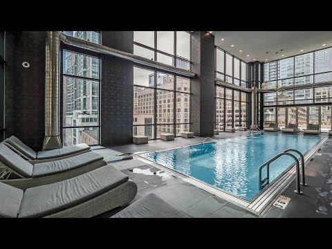 New luxury Loop apartments with over-the-top amenities