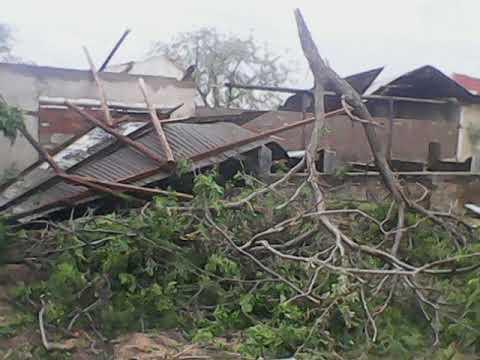 Bulawayo hailstorm, Emthunzini suburb, strong winds Zimbabwe, tornado