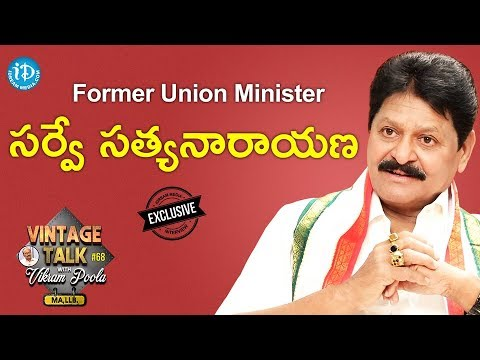 Former Union Minister Survey Satyanarayana Full Interview || Talking Politics With iDream #280