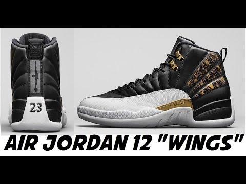 wholesale dealer 00bc1 a8d71 Air Jordan 12 Wings Sneaker