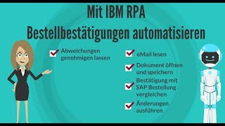 IBM Robotic Process Automation (RPA)