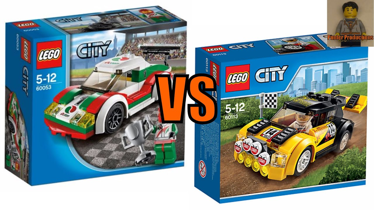 Lego City Race Cars Comparison Vs Youtube