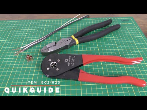QuikGuide: 4-Way Crimping Tool (22 To 10 AWG)