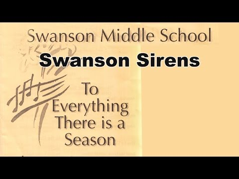 "2014 Swanson Middle School Chorus Concert - ""Jar of Hearts"""