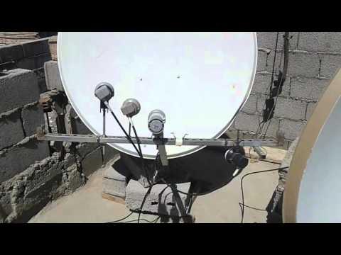طريقة إستقبال 8 اقمار Nilesat+hotbird+astra+bader+Eutelsat. W3+arabsat