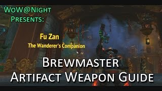 Brewmaster Monk Artifact Weapon Guide (Legion Patch 7.1)