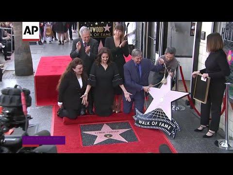 Lynda Carter gets her Hollywood star