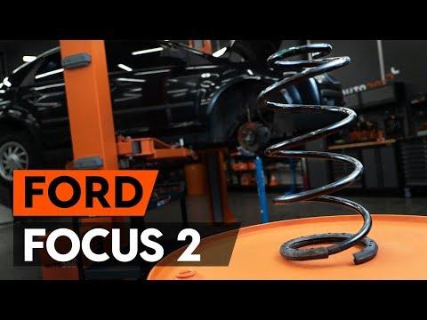 Как заменить передние пружины подвески наFORD FOCUS 2 (DA) [ВИДЕОУРОК AUTODOC]