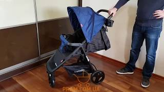 Видео обзор CARRELLO MAESTRO CRL-1414 2018 (КАРРЕЛЛО МАЭСТРО) прогулочная коляска