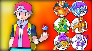 Red's Legendary Pokemon Team
