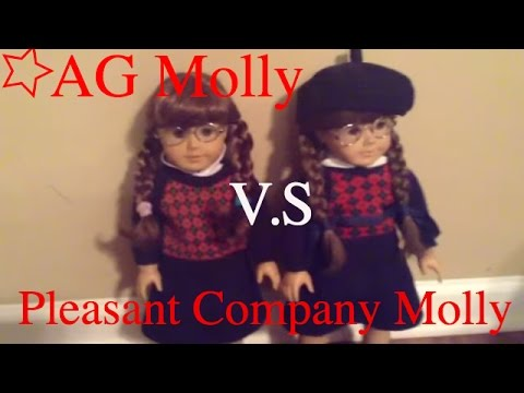 American Girl Molly Vs Pleasant Company Molly
