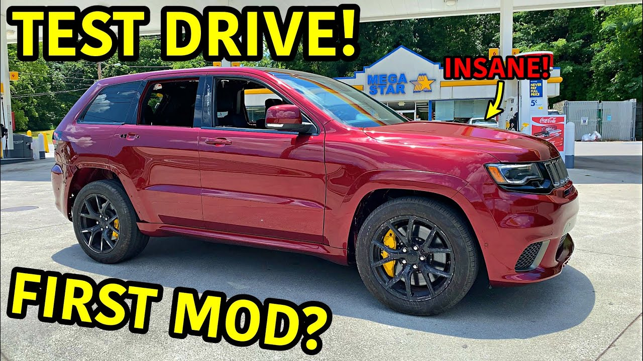 Rebuilding A Wrecked 2018 Jeep Trackhawk Part 22 Youtube
