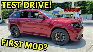 Rebuilding A Wrecked 2018 Jeep Trackhawk Part 22