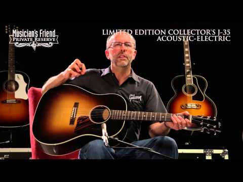 Gibson Limited Edition Collector's J-35 Acoustic Guitar, demo'd by Don Ruffatto