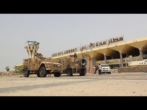 Yemen'de Aden havaalanı koalisyon güçlerinin eline geçti