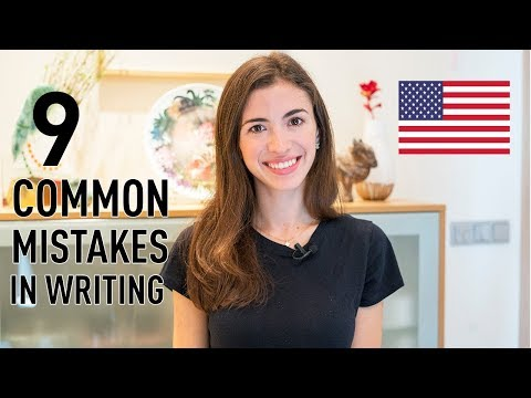 9 MOST COMMON MISTAKES IN WRITTEN ENGLISH