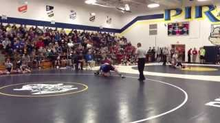 Wes Yoder, Sigourney-Keota Vs. Don Bosco Wrestling