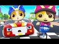 Baby Car Race   Police Car   Healthy Habits Song   Nursery Rhymes   Kids Songs   BabyBus