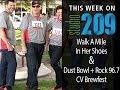 Studio209: Walk a Mile in Her Shoes; Dust Bowl & Rock 96.7 CV Brewfest