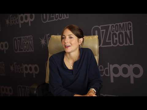 Catrin Stewart talks more Doctor Who  Pt 2  Oz Comic Con Sydney 2017