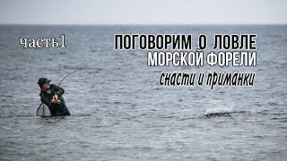 Морская рыбалка Ловля морской форели спиннингом Советы по ловле Выбор снасти и приманки Часть 1