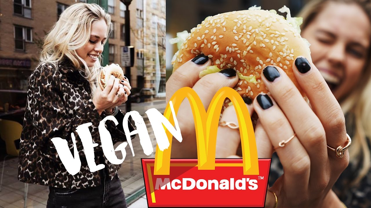 McDonald's' First Vegan Burger - Taste Test | Cornelia