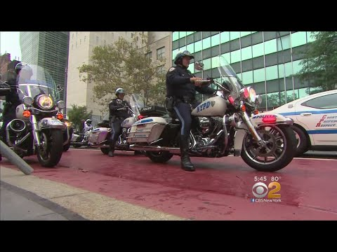 Meet The NYPD's UN Motorcade Unit