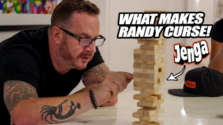 THINGS GET HEATED BETWEEN RANDY AND BLAKE! *Thee Most Intense Jenga Game Ever!!*