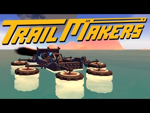 Trailmakers - The Spider Speed Boat - Exploring Distant Islands - Trailmakers Sandbox Gameplay