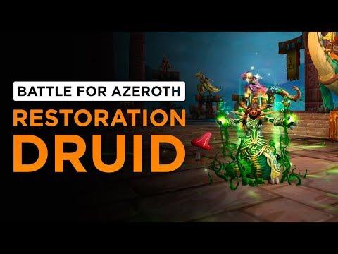 Restoration Druid   WoW: Battle for Azeroth - Alpha [1st Pass]