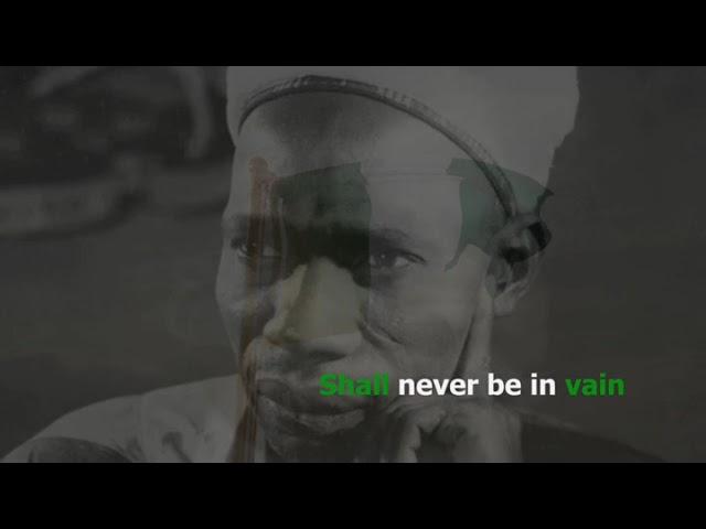 The Nigerian National Anthem | Wura Grant