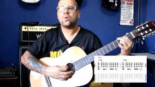 Ritmo Pop  nº4 - compasso 4/4 - Prof Juninho Abrão
