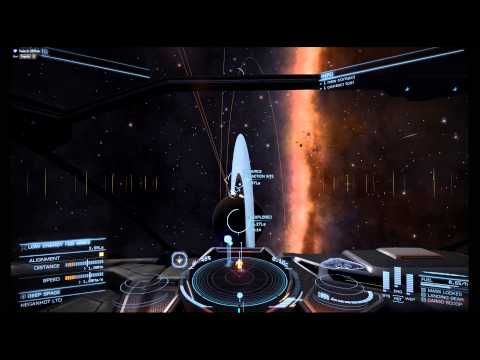 Elite: Dangerous - Release 1.03 - Cobra gameplay, trading, combat, ship upgrades ect, ect.