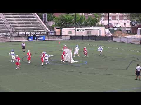 2012 NCAA Lacrosse First Round - Stony Brook vs Johns Hopkins Highlights