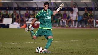 ركلات ترجيح مباراة ريال مدريد وميلان 10 - 9 الكاس الدولية للأبطال 2015 تعليق لحدان الفيحاني HD