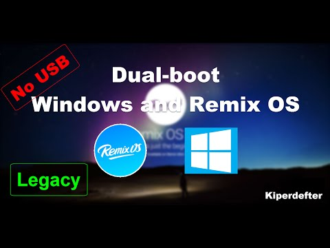 [Guide] How to dual boot Windows and Remix OS - No USB (Android on your PC! - Hard Drive - Easy!)