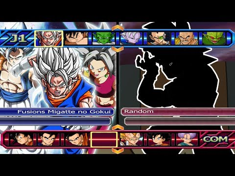 Fusions Mastered Migatte no Gokui VS Five Random | Dragon Ball Z Budokai Tenkaichi 3