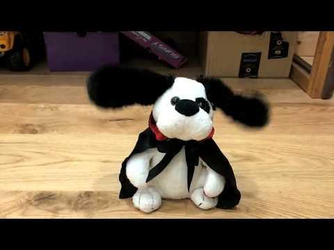 Singing Halloween Toy Dog