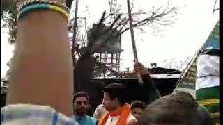 आतंकी हमले के बाद देश भर मे बदले की आग।  Desh Bhar mai bdle ki aag