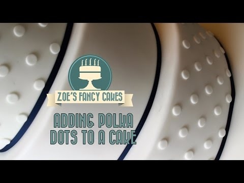 Polka Dot Cakes How To Evenly Space Your Polka Dots Tutorial How To Cake Decorating