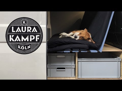 Camper Van Conversion Ep.1 - Bed, Couch and Cargo