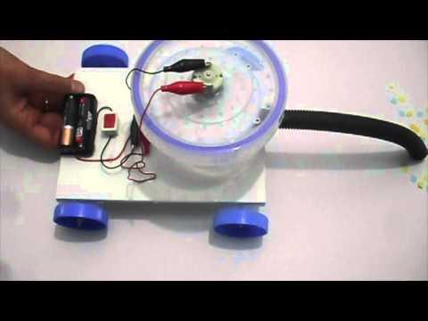Tasarla ve Yap - Mini Elektrik Süpürgesi