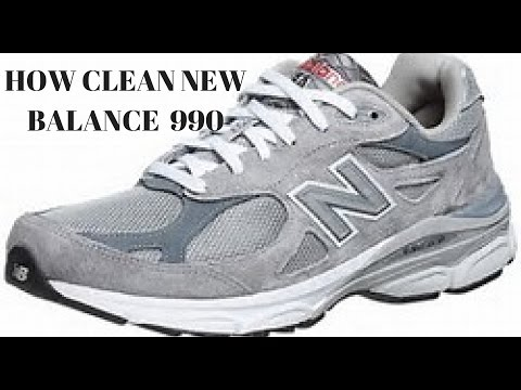 How to clean new balance 990