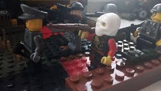 Лего война немцев и русских 1 часть